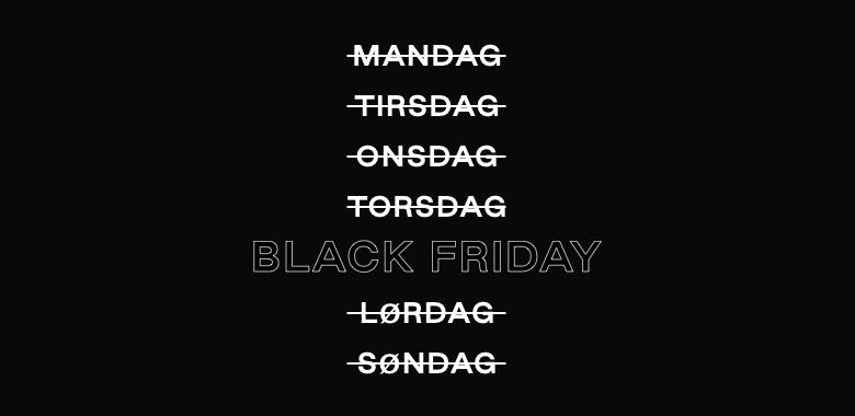 Sådan tjener du penge på Black Friday